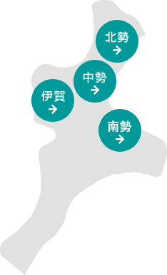 三重県地図(建築家一覧)